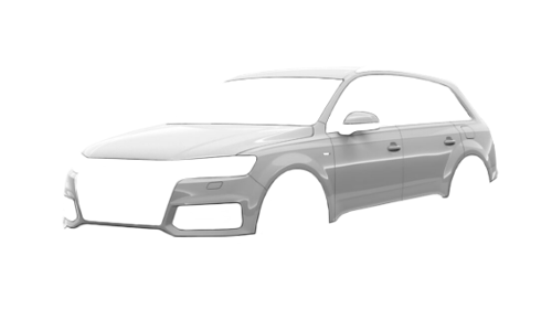 Цвета кузова Q7 e-tron quattro